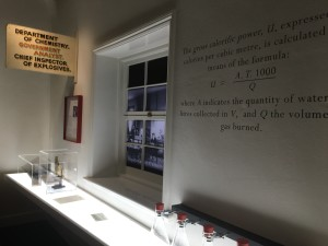 Image: wall with chemistry sign and equation